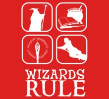 Wizards Rule Kids Clothes