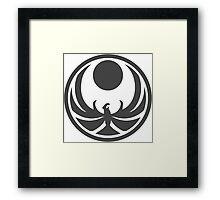 Skyrim Nightingale Symbol - Dark Framed Print