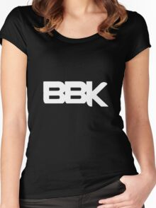 BBK - Boy Better Know (white) Women's Fitted Scoop T-Shirt