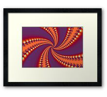 Spiral Illuminations Framed Print