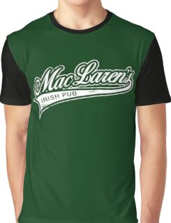 MacLaren's Pub Graphic T-Shirt