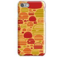Hamburger a background iPhone Case/Skin