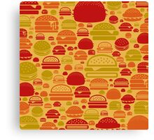 Hamburger a background Canvas Print