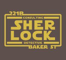 SHER LOCK Baby Tee