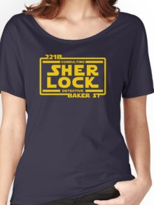 SHER LOCK Women's Relaxed Fit T-Shirt