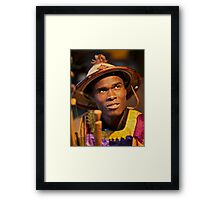 Ows Karamo ! vivre au senegal.  by  Doktor  Faustus !  featured in AFRICAN ART AND PHOTOGRAPHY. Framed Print
