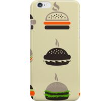 Hamburger2 iPhone Case/Skin