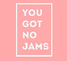 BTS/Bangtan Sonyeondan - You Got No Jams (Pink) by skiesofaurora