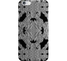 black emboss -R20 iPhone Case/Skin