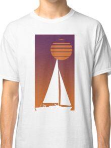 Sailboat Sunrise Classic T-Shirt
