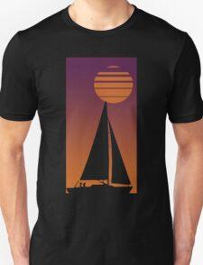 Sailboat Sunrise Unisex T-Shirt