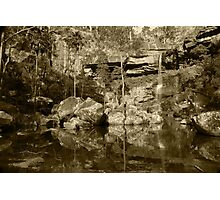 Hidden in the gorge Photographic Print