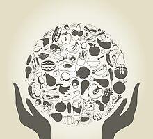 Hand food2 by Aleksander1