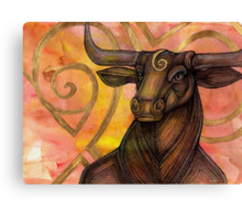 The Minotaur's Dream Canvas Print