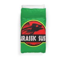 Jurassic Sushi Duvet Cover