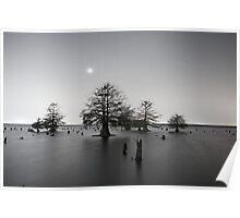 Sunken Island by Starlight Poster
