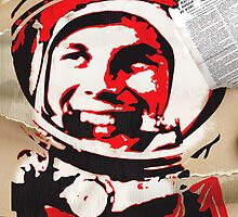 Yuri Gagarin forever with us by ArtGorka