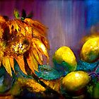 Still Life with a Sunflower... by ©Janis Zroback