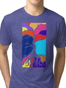 Tree Silhouette Tri-blend T-Shirt