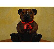 Christmas bear! Photographic Print