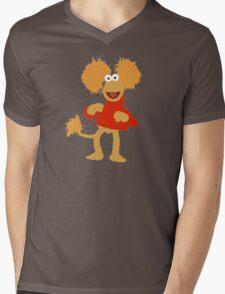 Fraggle!(3) Mens V-Neck T-Shirt