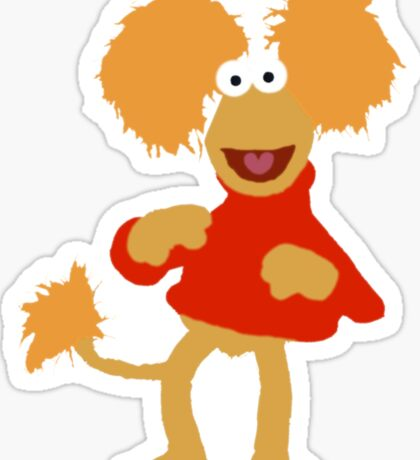 Fraggle!(3) Sticker