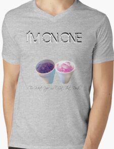 I'm On One Mens V-Neck T-Shirt