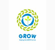 GROW helping the earth to live Unisex T-Shirt