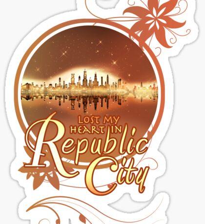 Lost My Heart In Republic City Sticker