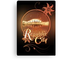 Lost My Heart In Republic City Canvas Print
