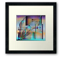 Hidden Walls Framed Print