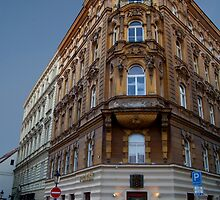Corner Building, Prague by SerenaB