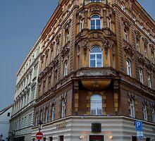 Corner Building, Prague by SerenaB
