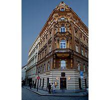 Corner Building, Prague Photographic Print