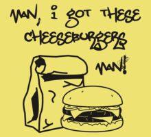I got these cheeseburgers! by GawkArt