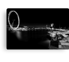 central london late at night Canvas Print
