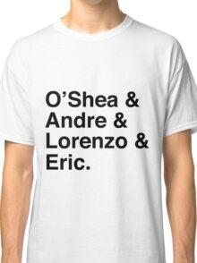 O'Shea & Andre & Lorenzo & Eric NWA T-Shirt Classic T-Shirt