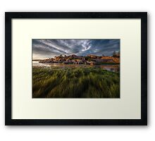 Sweeper Framed Print