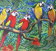 Rainforest Rhythm by Sally Ford