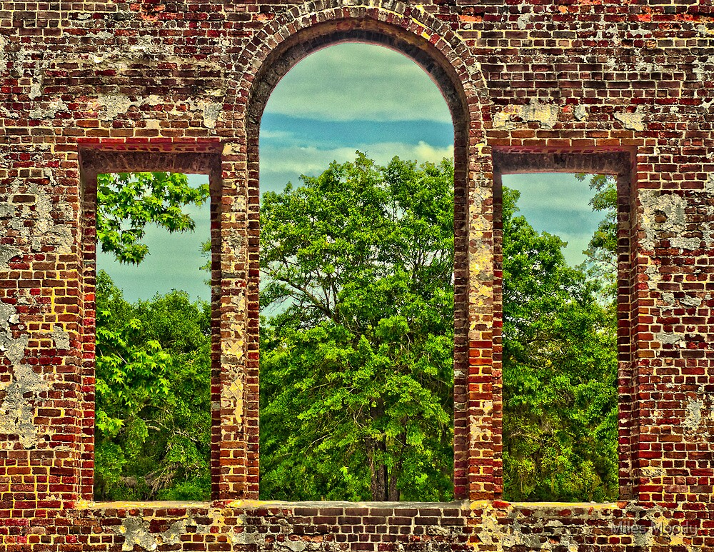 Walls By Man, Windowpanes By God by Miles Moody