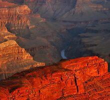 Hopi Point at Sunrise by Stephen Vecchiotti