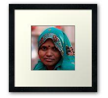 Bindi Smile Framed Print