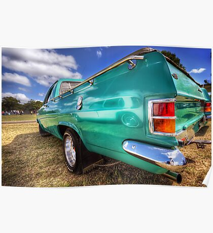 67 HR Holden Ute Poster