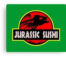 Jurassic Sushi Canvas Print