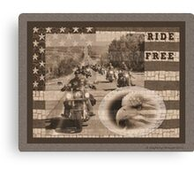 Ride Free for Cristy 2 Canvas Print