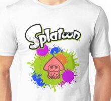 Splatoon Squid - Colour Red Unisex T-Shirt