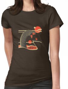 Arrakis Travel Poster Womens Fitted T-Shirt
