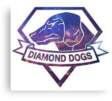 Diamond  universe Canvas Print