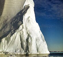 Magnificant Iceberg, Cape Roget, Antarctica by Carole-Anne