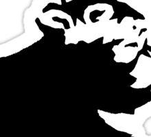 Banksy - Umbrella Rat Sticker